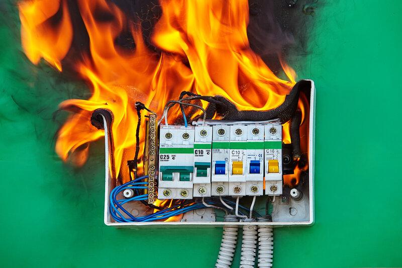 Home Inspection Martinsburg Fire Hazard